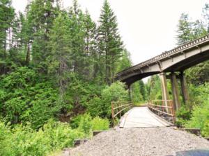 Weiser River Trail bridge